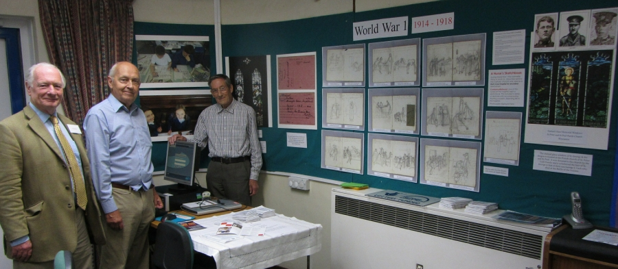 WW1 Museum Library Display